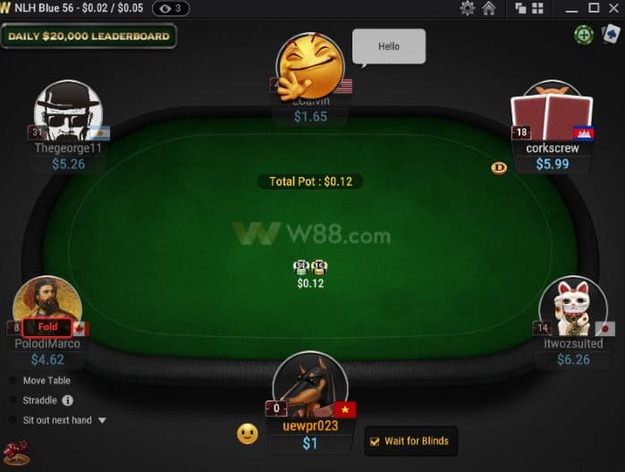 How to play W88 Poker - For beginner from A to Z