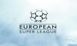 New European Super League with an annual prize fund of £2.7B