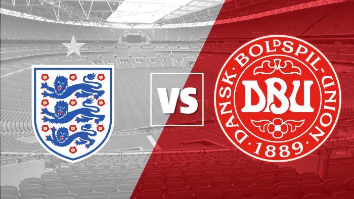 England Vs. Denmark - Champions Battle for Euro 2020 Finals